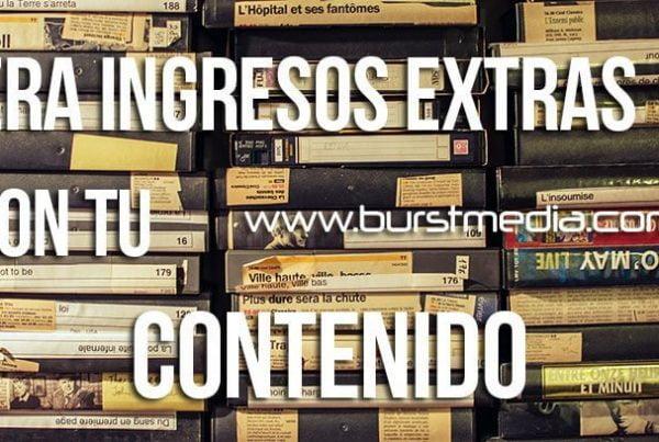Ingreso con tu contenido burstmedia.com.mx