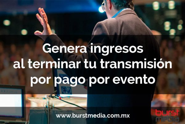 streaming pago por evento